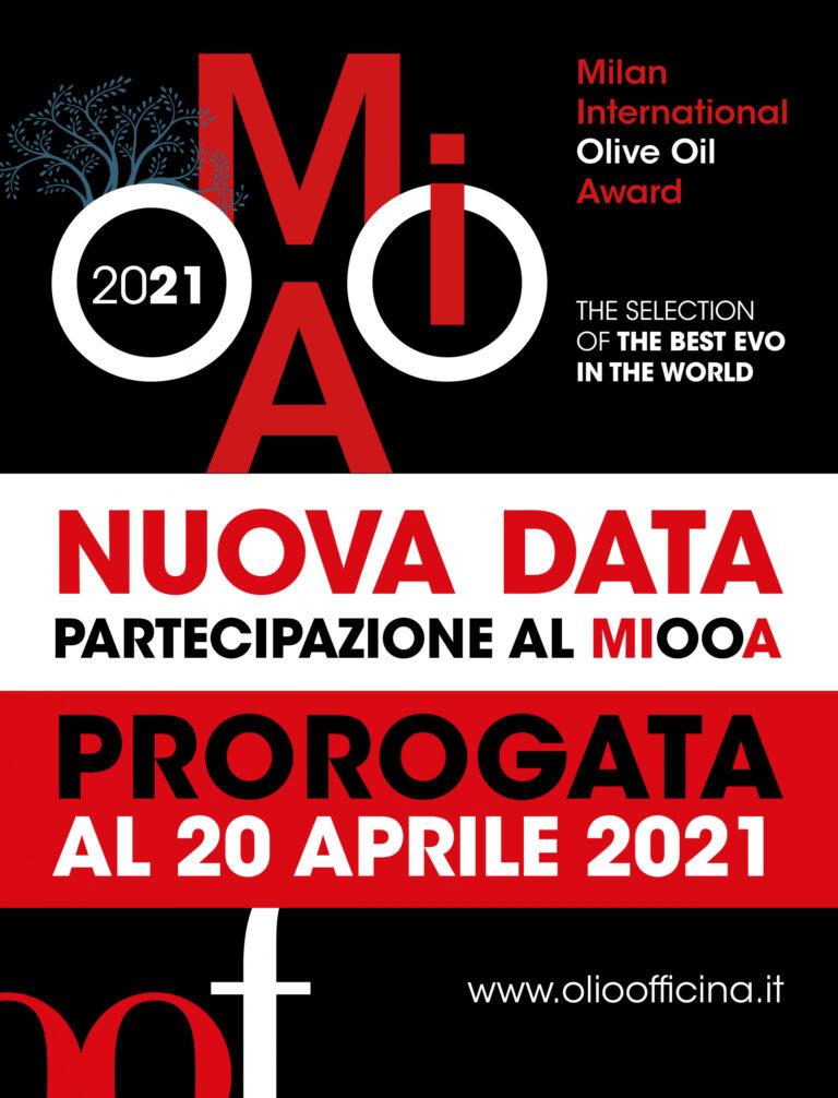 Proroga fino al 20 aprile per la seconda edizione del Milan International Olive Oil Award