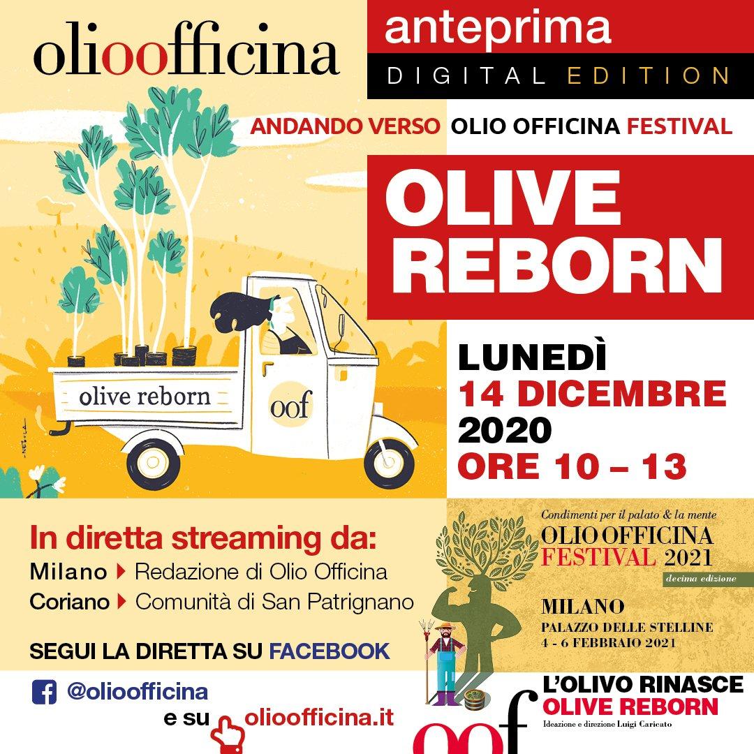 Olio Officina Festival Anteprima 2020, il programma