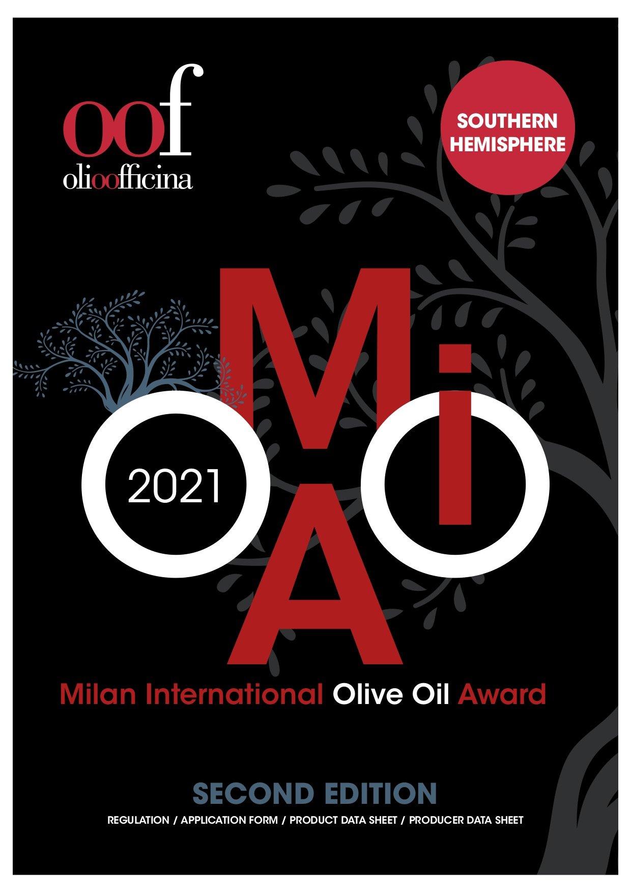 Emisfero Sud, iscrizioni aperte al Milan International Olive Oil Award