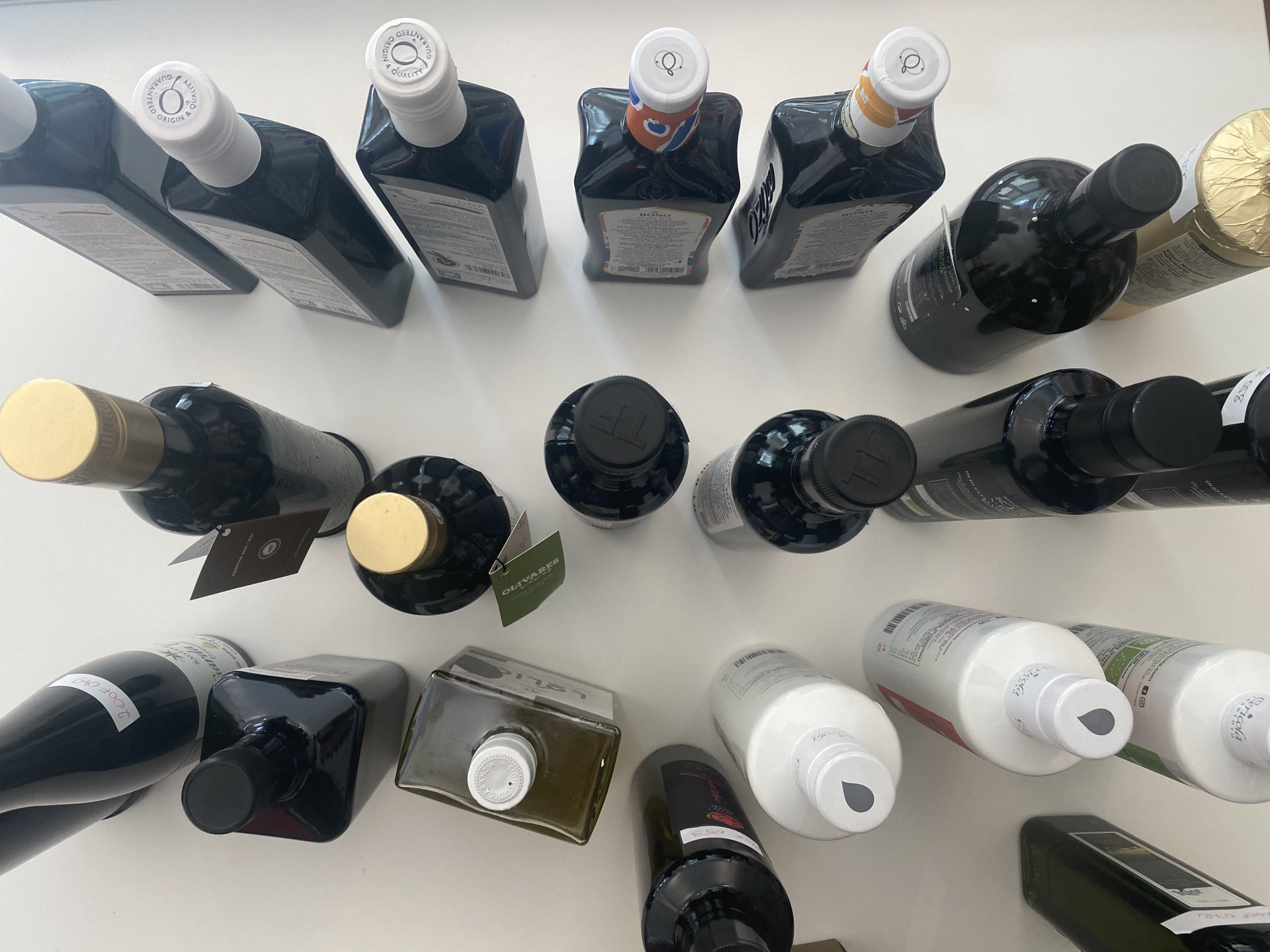 Olive Oil stocked in Italy. Update of 30 April 2021