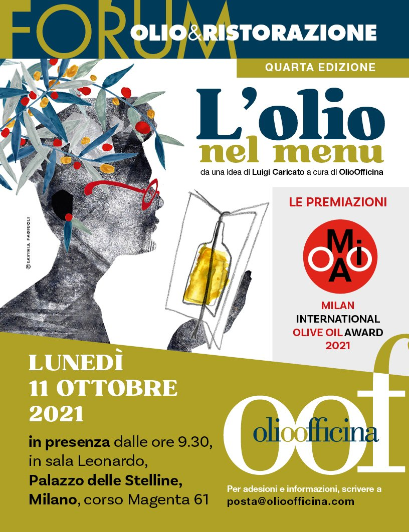 Segui lo streaming del Forum Olio & Ristorazione e del Milan International Olive Oil Award