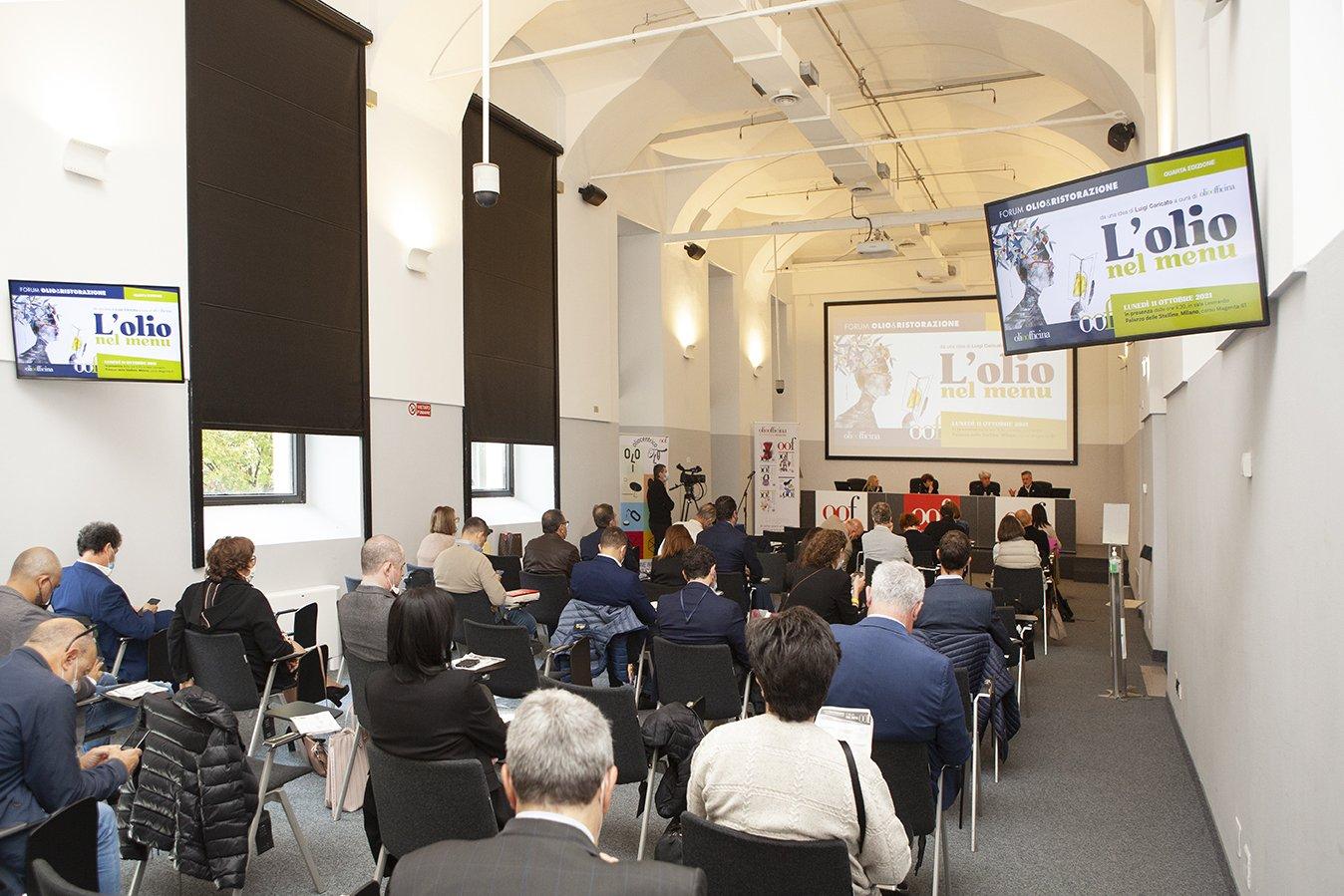 Rivedere tutto il Forum Olio & Ristorazione e le premiazioni del Milan International Olive Oil Award