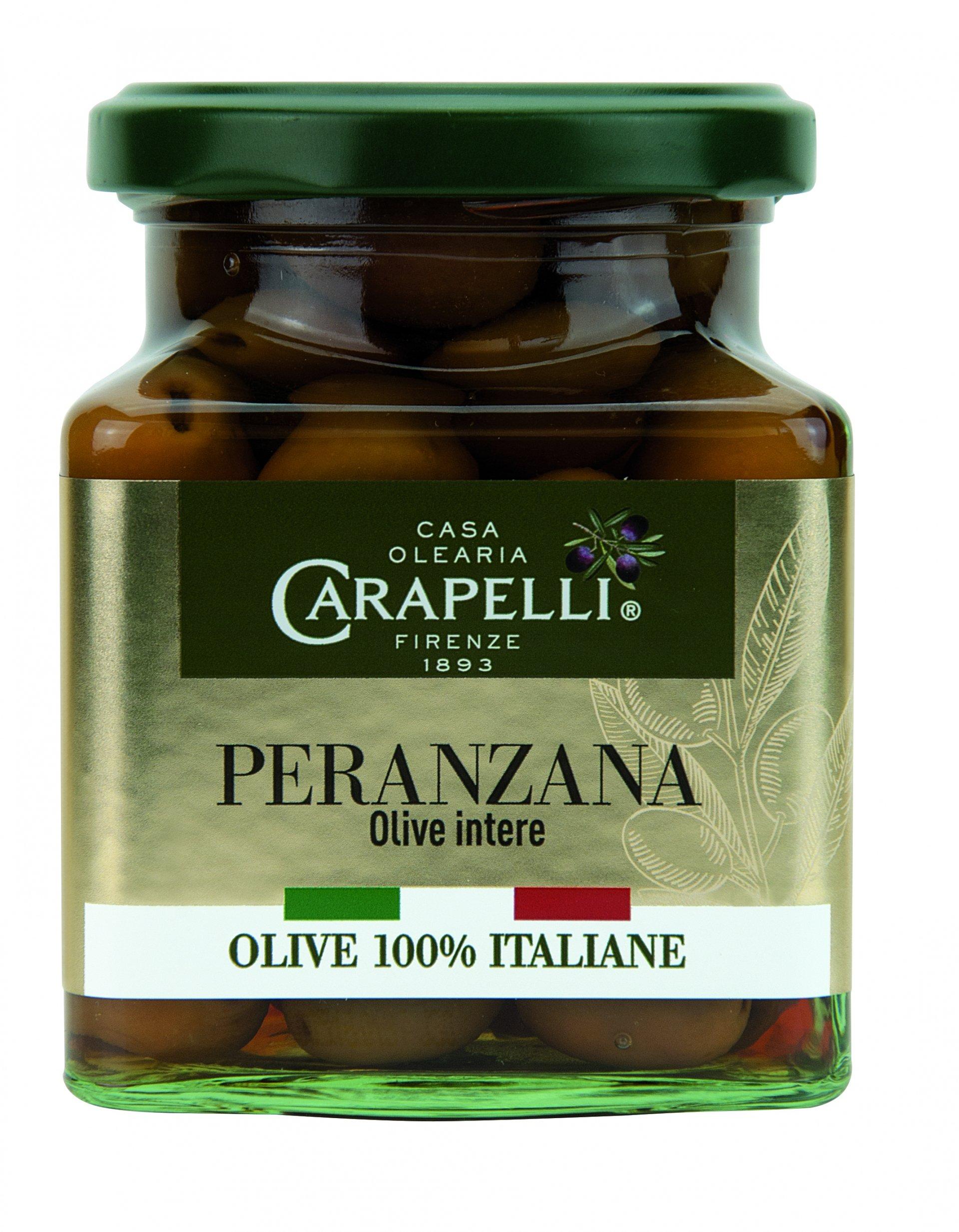 Le olive da tavola a marchio Carapelli
