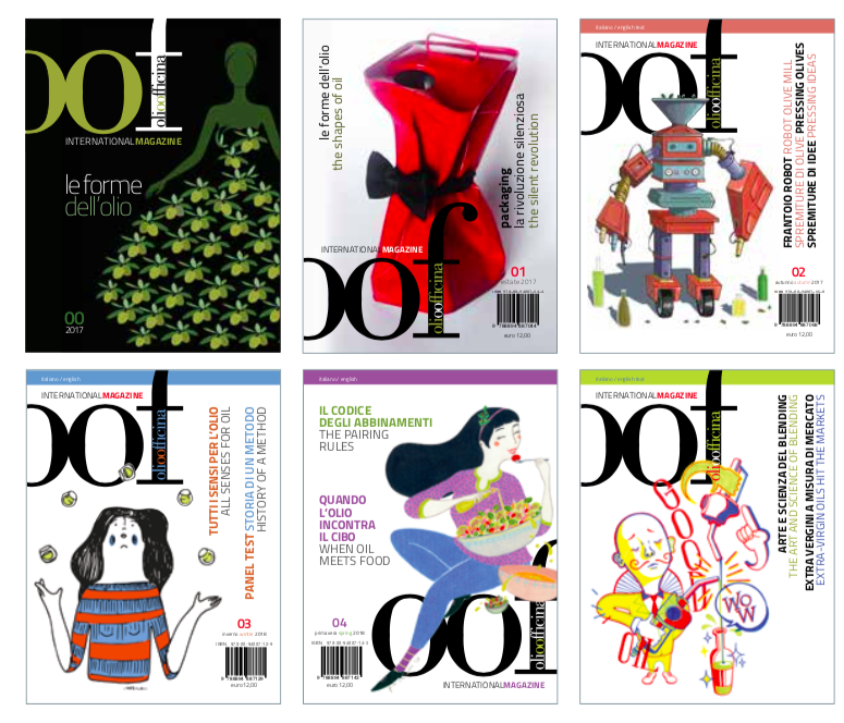 Abbonarsi alla rivista trimestrale OOF International Magazine