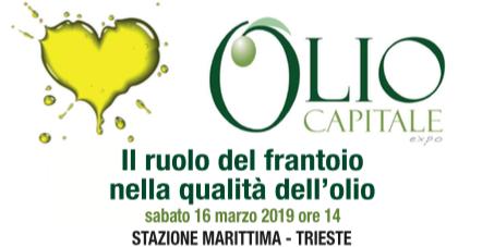 Il ruolo del frantoio nella qualità dell'olio, un appuntamento nel capoluogo giuliano