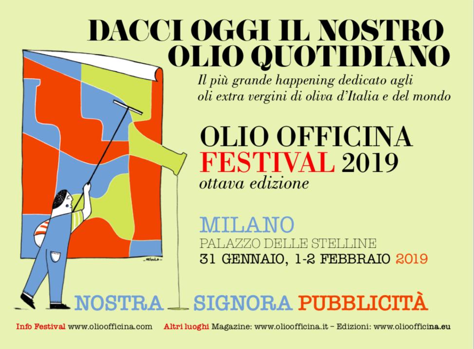 SCARICA IL PROGRAMMA DI OLIO OFFICINA FESTIVAL 2019