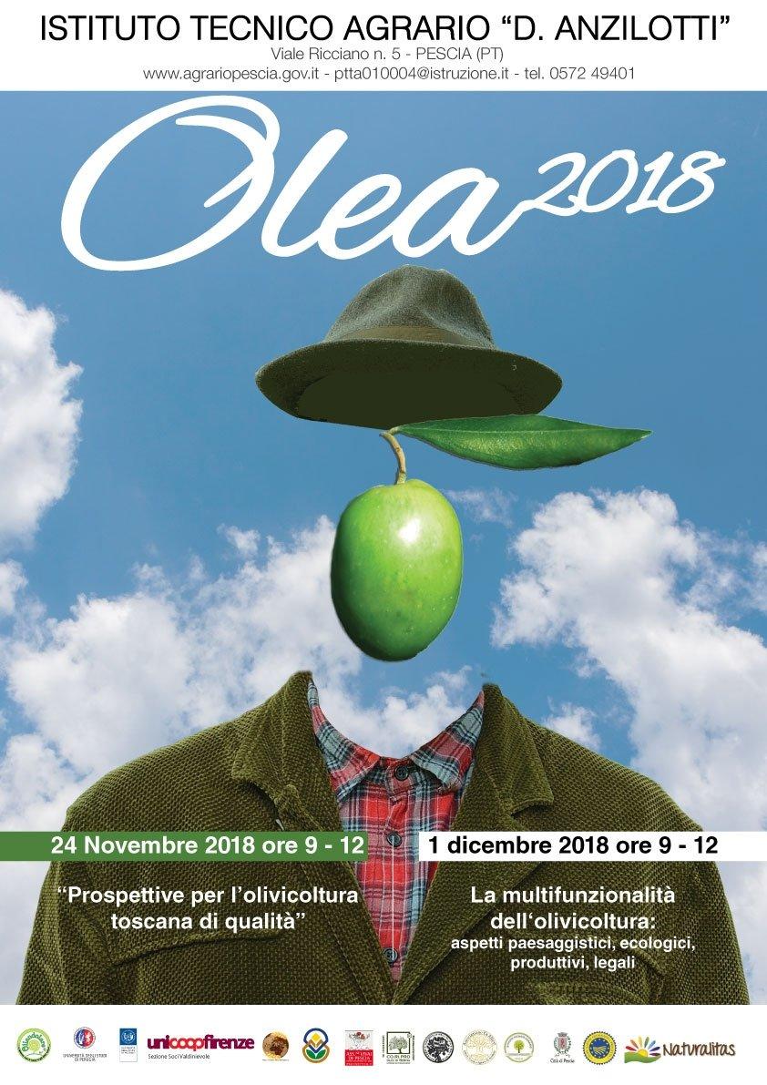 Olea 2018, a Pescia nei giorni di sabato 24 novembre e 1 dicembre 2018