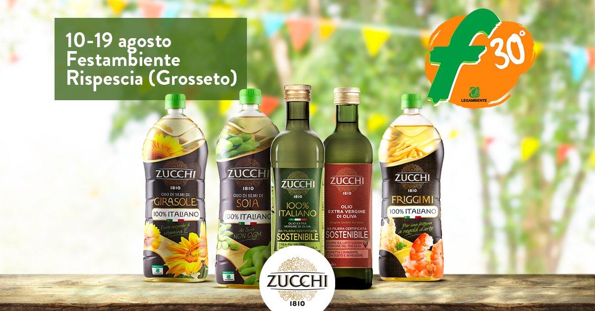 Festambiente 2018, la sostenibilità di Oleificio Zucchi al Festival Internazionale di Legambiente