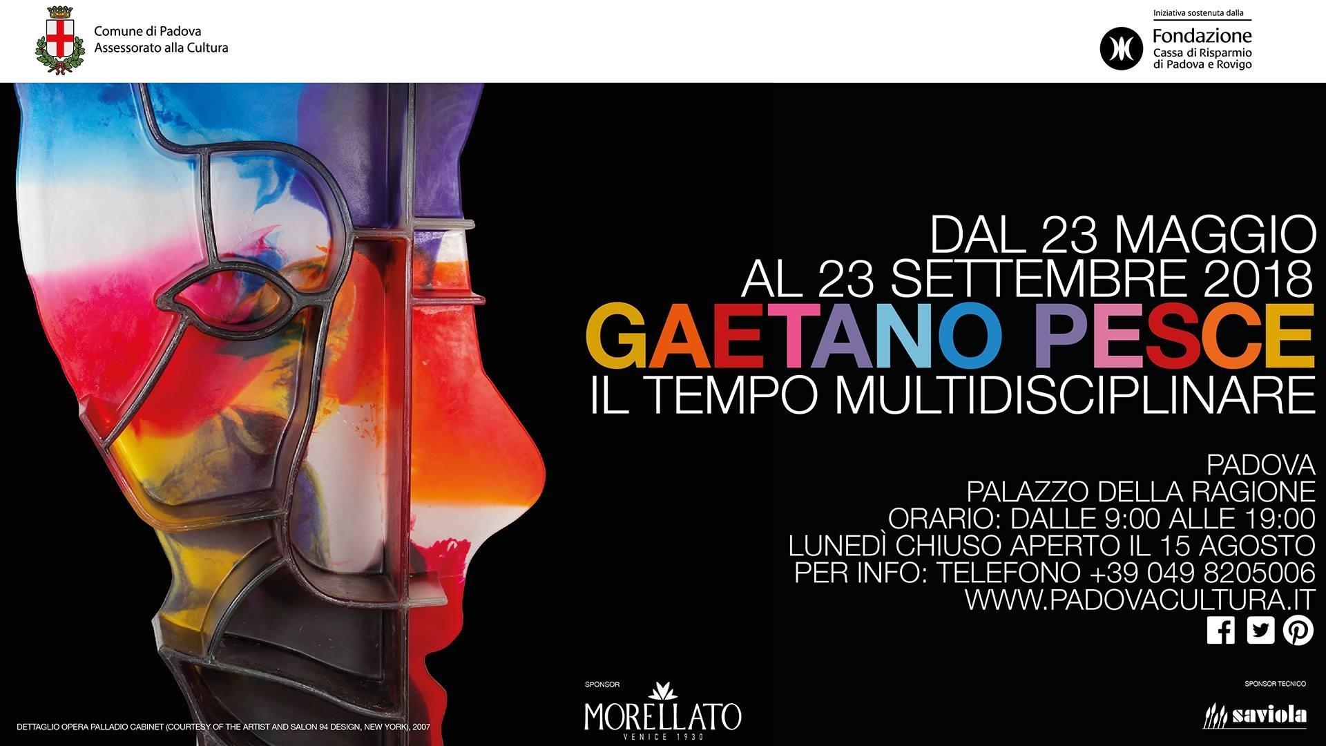 Padova, grande mostra retrospettiva dedicata a Gaetano Pesce: Il tempo multidisciplinare