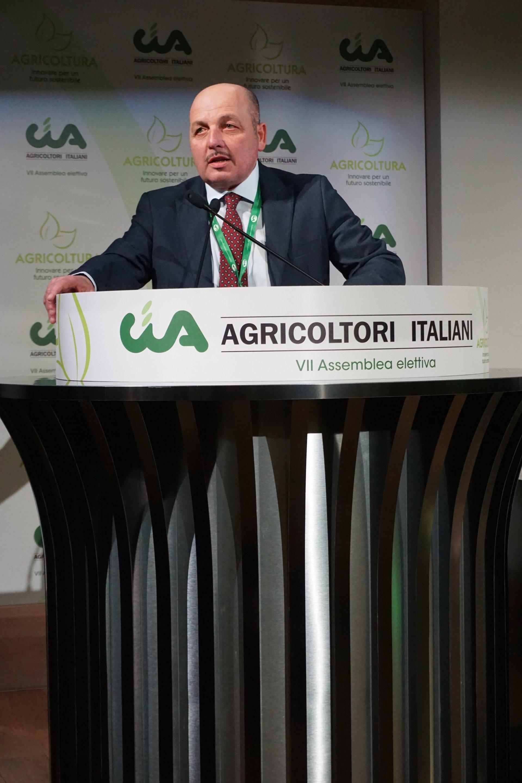 Dino Scanavino confermato presidente di Cia-Agricoltori Italiani
