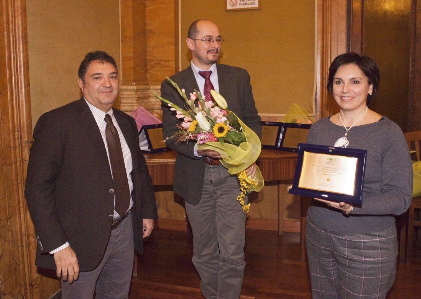 Premio De@Terra 2017 a Francesca Petrini