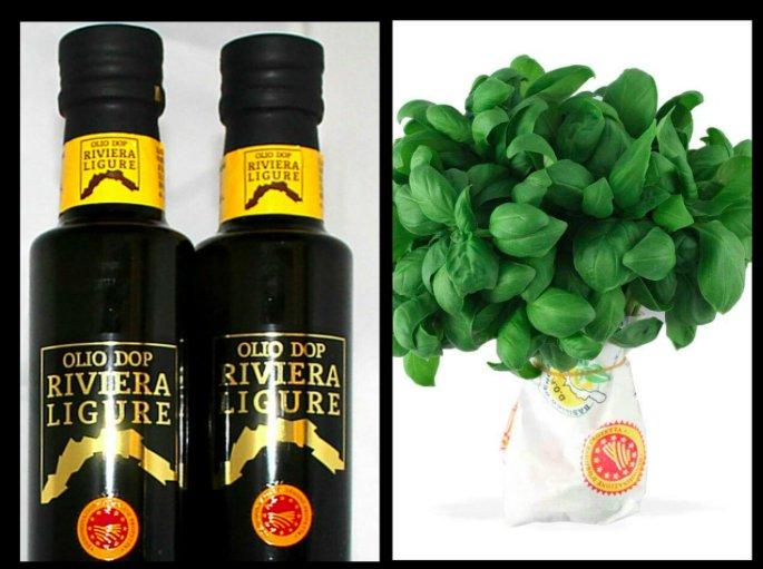 Olio Dop Riviera Ligure e Basilico genovese Dop, la campagna promozionale ha inizio