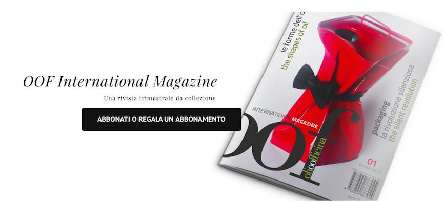 Come ricevere il primo numero di OOF International Magazine