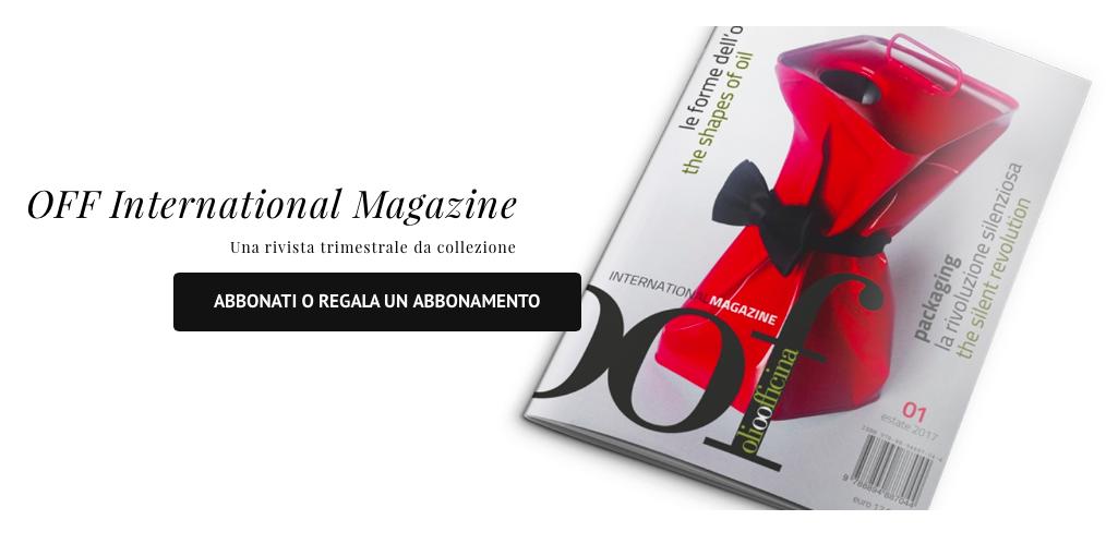 Come abbonarsi o regalare l'abbonamento a OOF International Magazine, le modalità