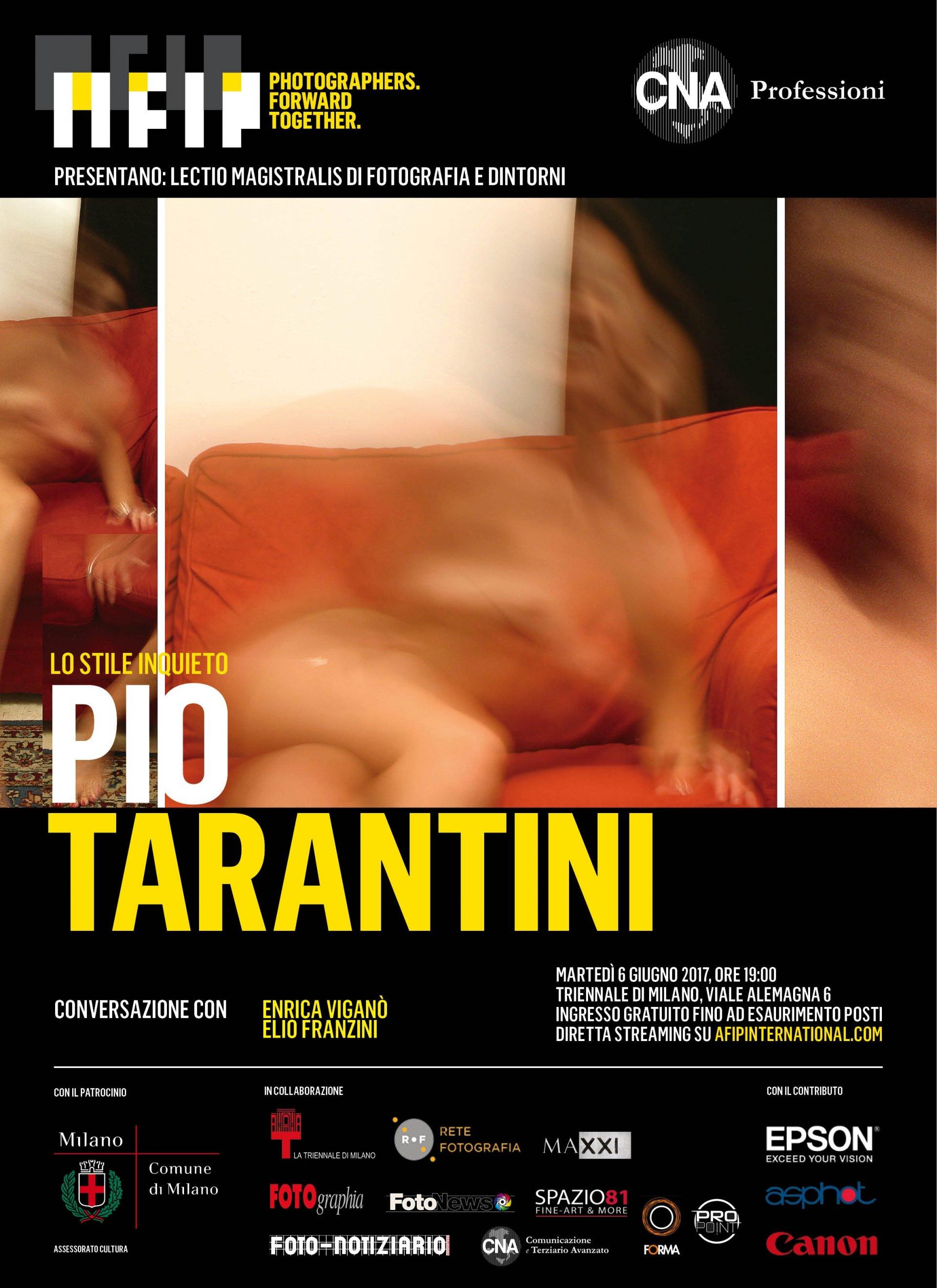 Triennale Milano, una lectio del fotografo Pio Tarantini sullo stile inquieto
