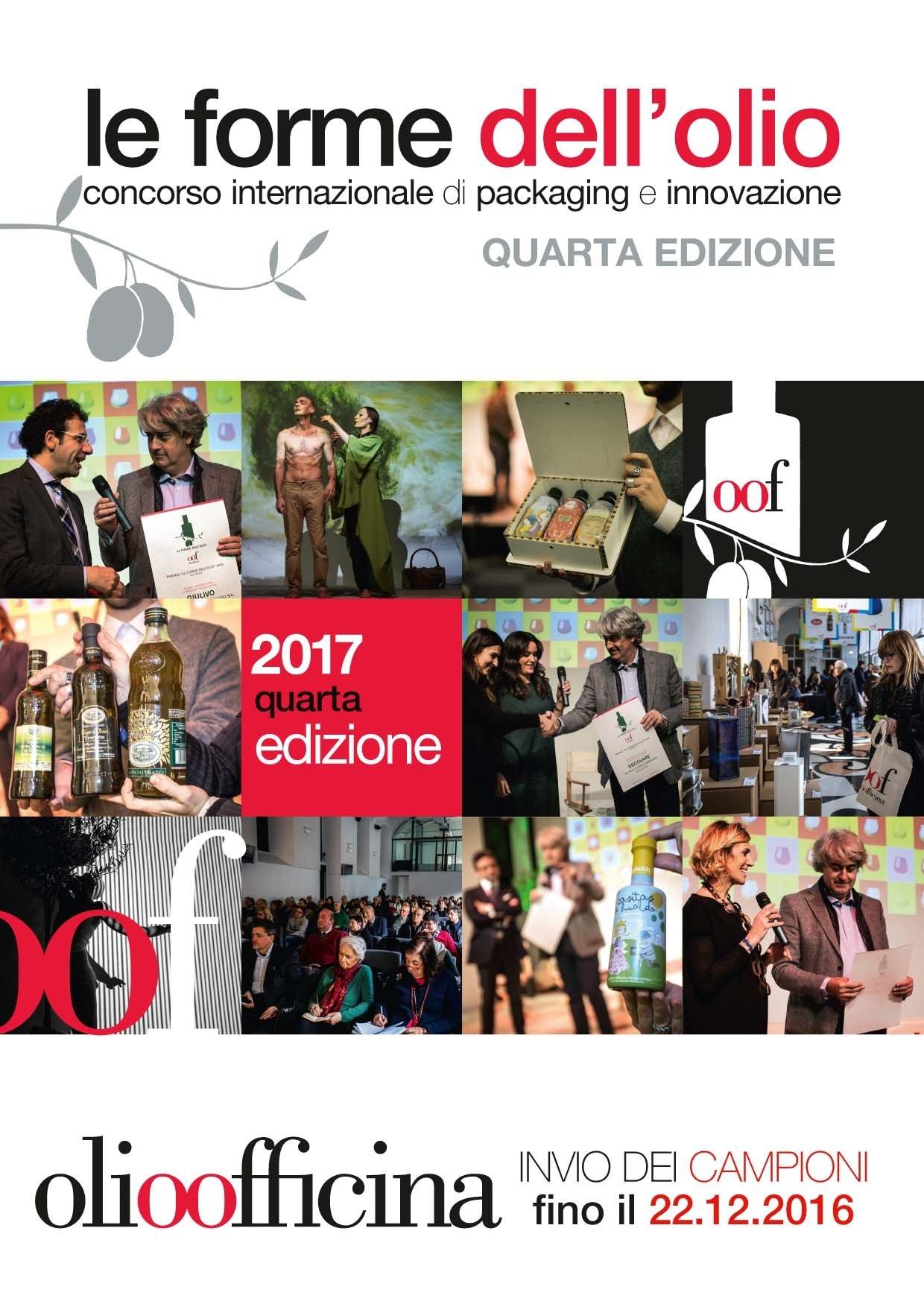 Ultimi giorni per partecipare al concorso Le Forme dell'Olio 2017