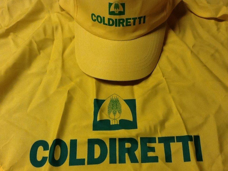 Tutti con la maglia di Coldiretti