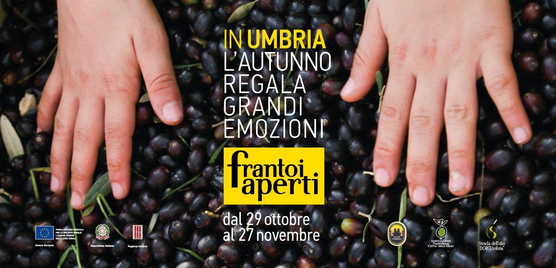 Il ritorno di Frantoi Aperti, dal 29 ottobre al 27 novembre in Umbria