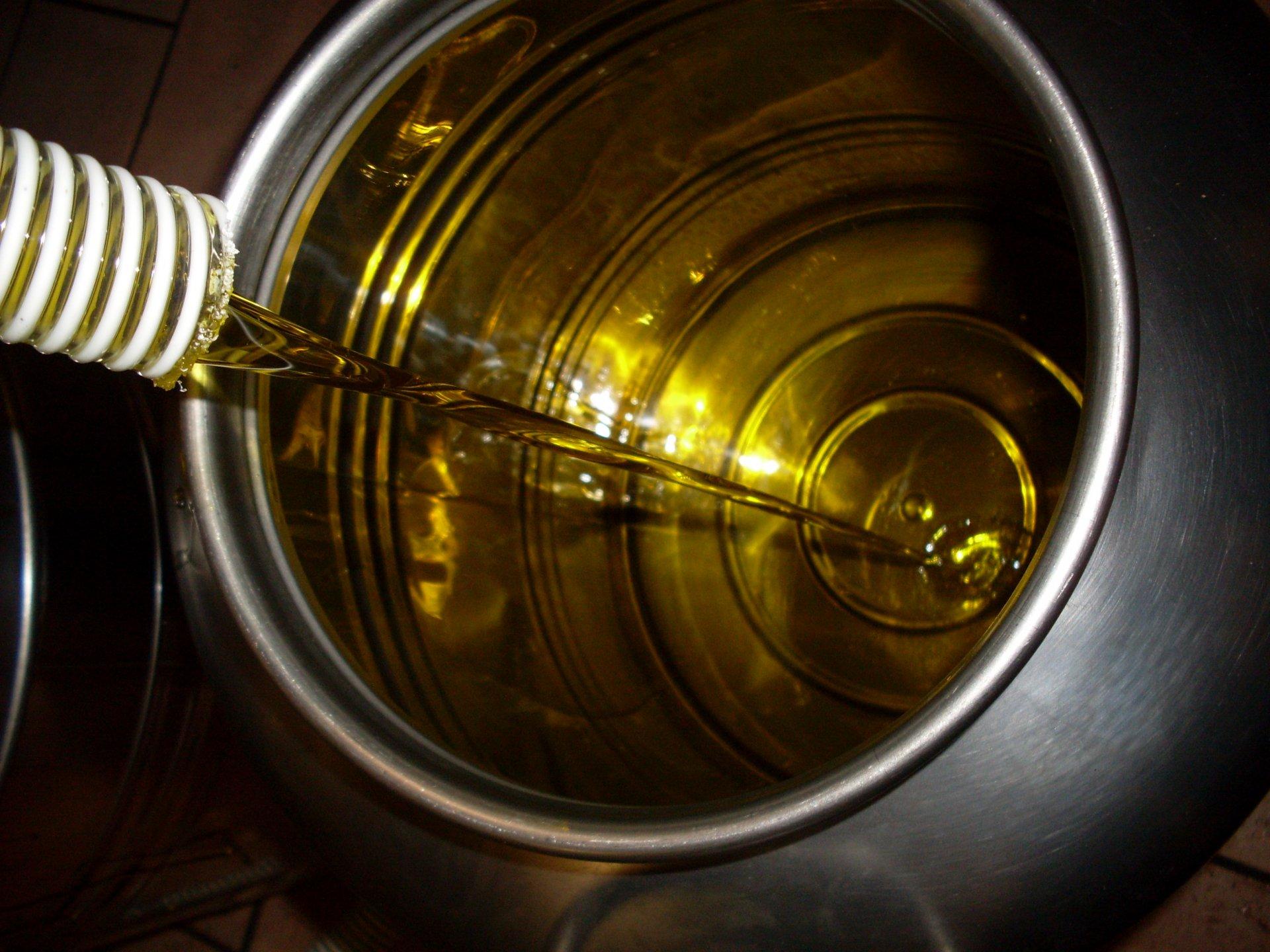 L'aspetto visivo dell'olio