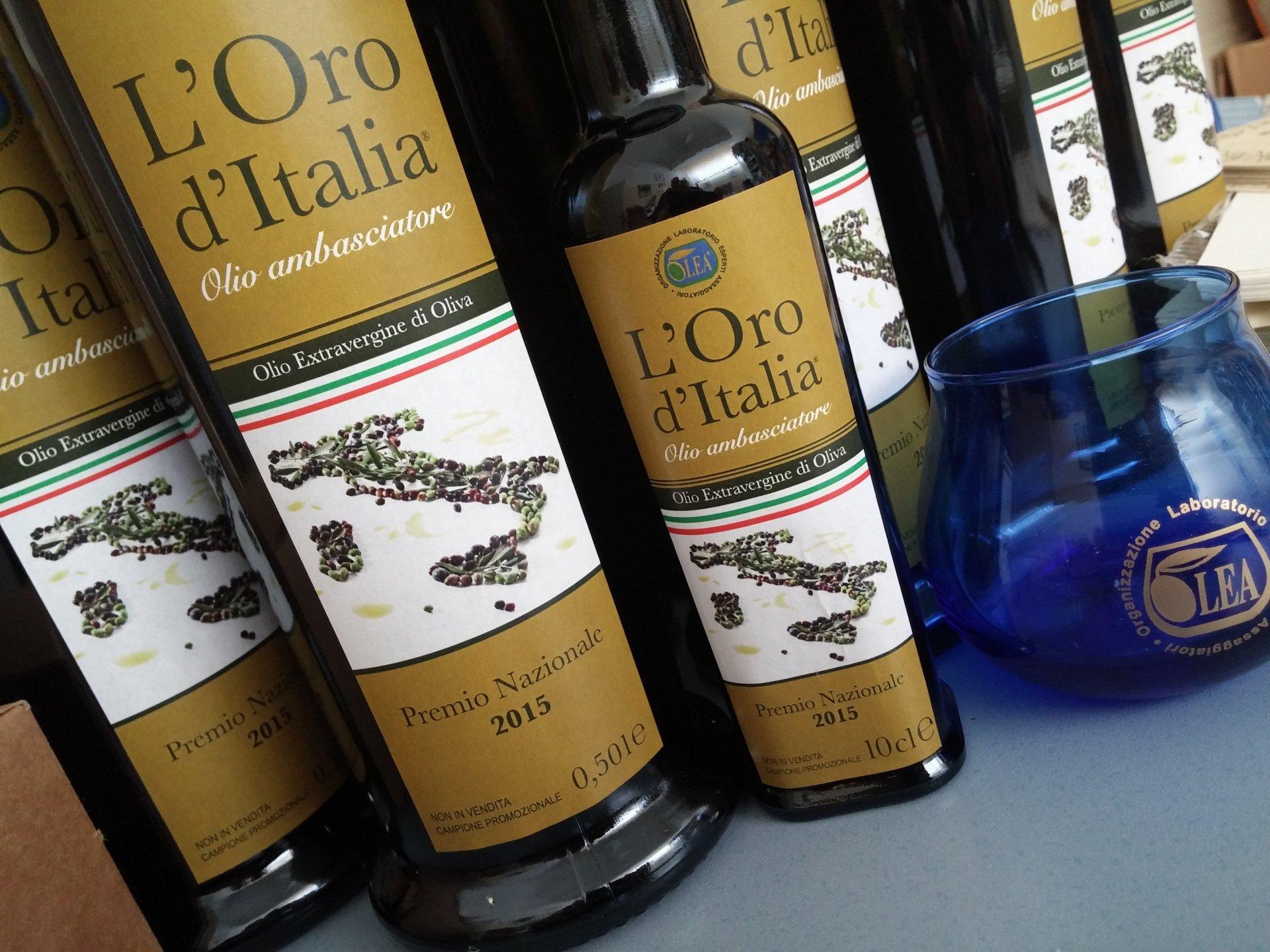 Tante gocce d'oro sull'Italia
