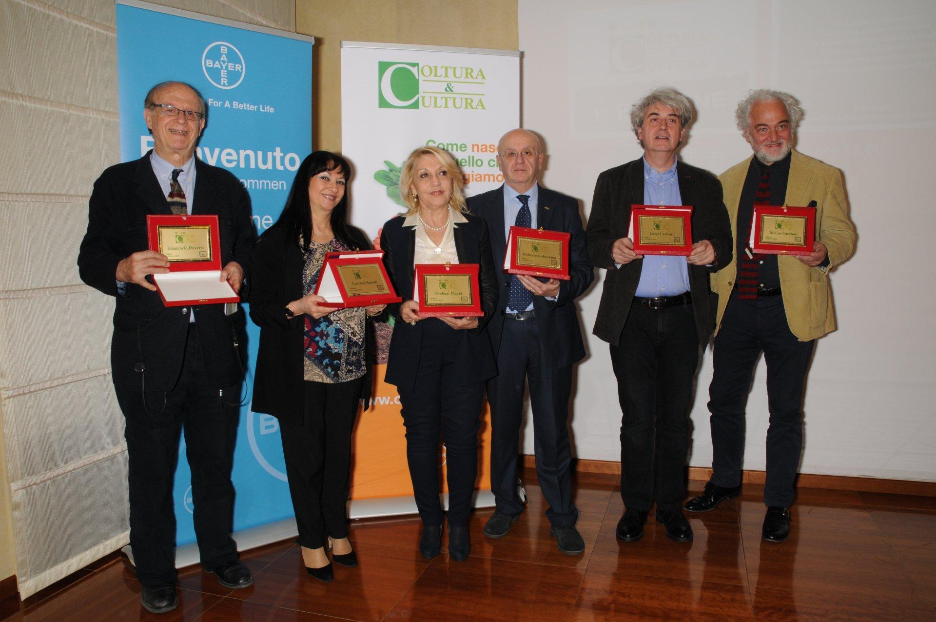 Premio Giornalistico Coltura & Cultura, Bayer ha premiato i professionisti della comunicazione impegnati nel settore agroalimentare