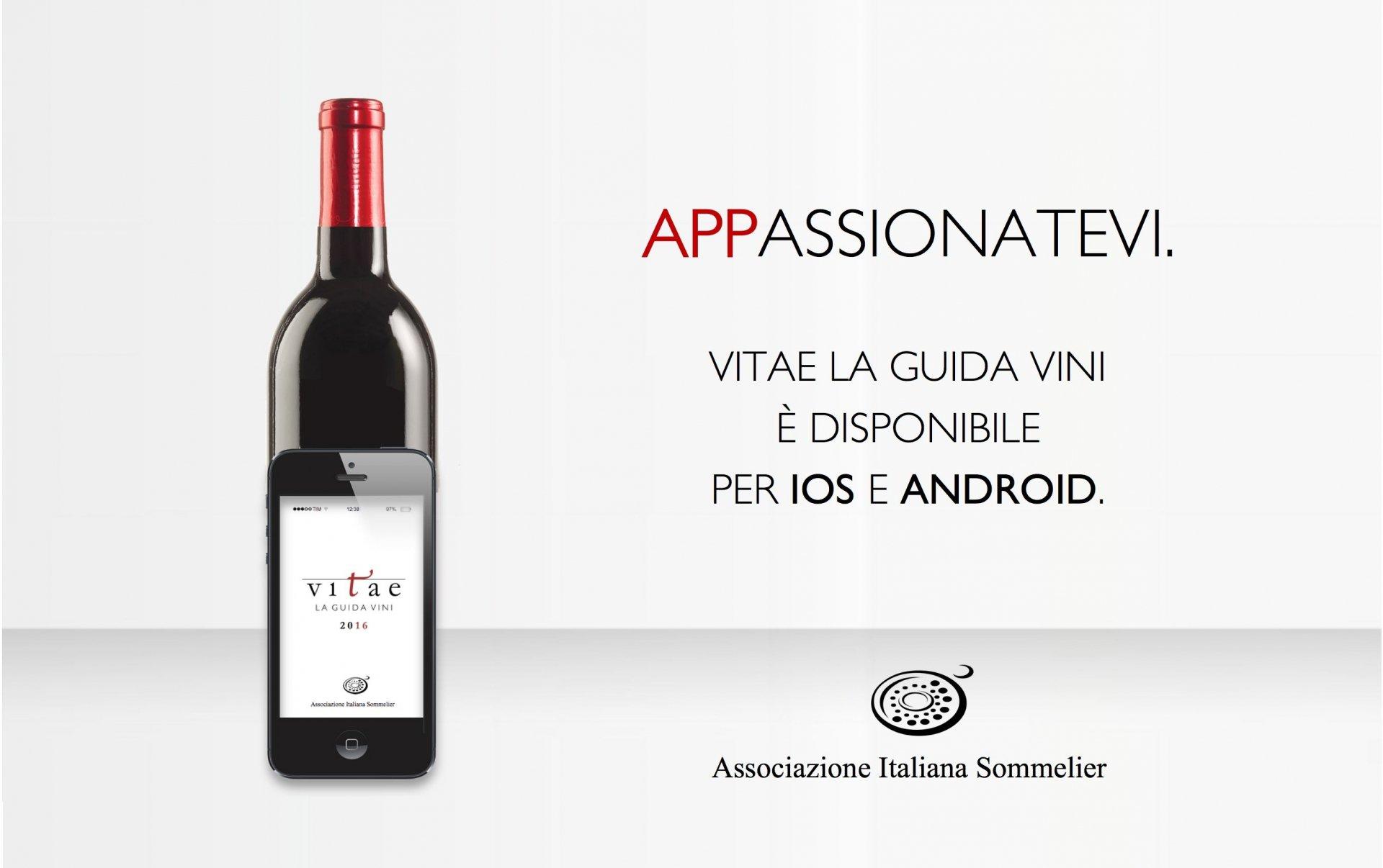Vitae, la Guida Vini dell'Associazione Italiana Sommelier in versione digitale tra le App più vendute