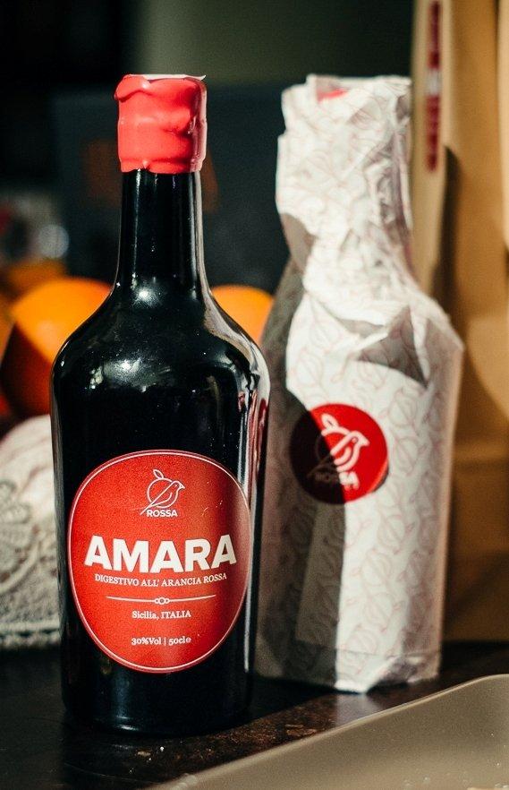 Amara, l'infusione d'arance rosse