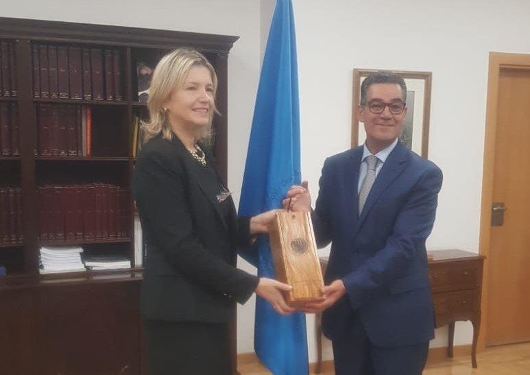 Ambassador of Bosnia and Herzegovina visits the Ioc