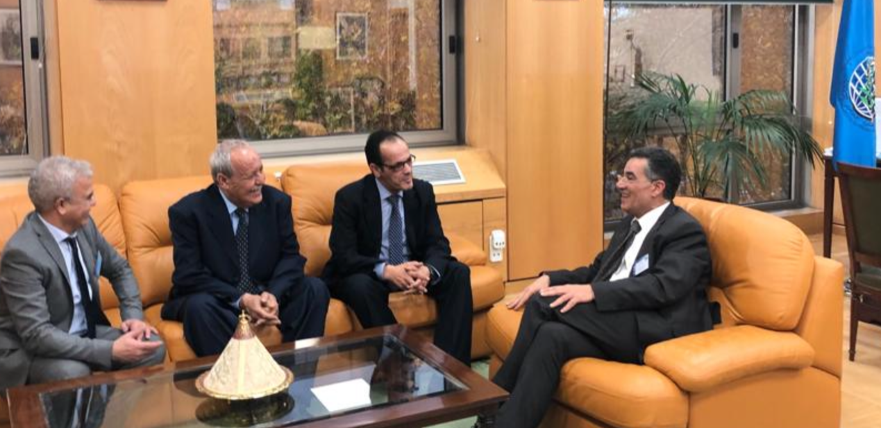 Close ties between Libya and the Ioc