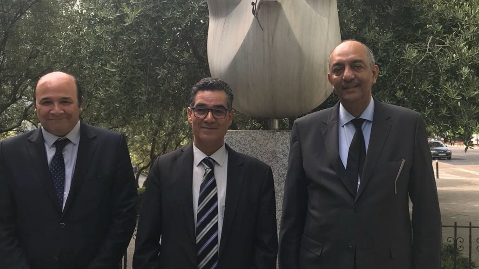 The Executive Director of the International Olive Council, Abdellatif Ghedira, makes an official visit to Cairo