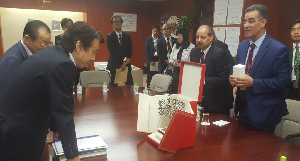 Japan and the International Olive Council