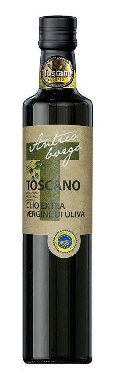 Antico Borgo, the scent and flavours of the Frantoio, Moraiolo and Leccino trine