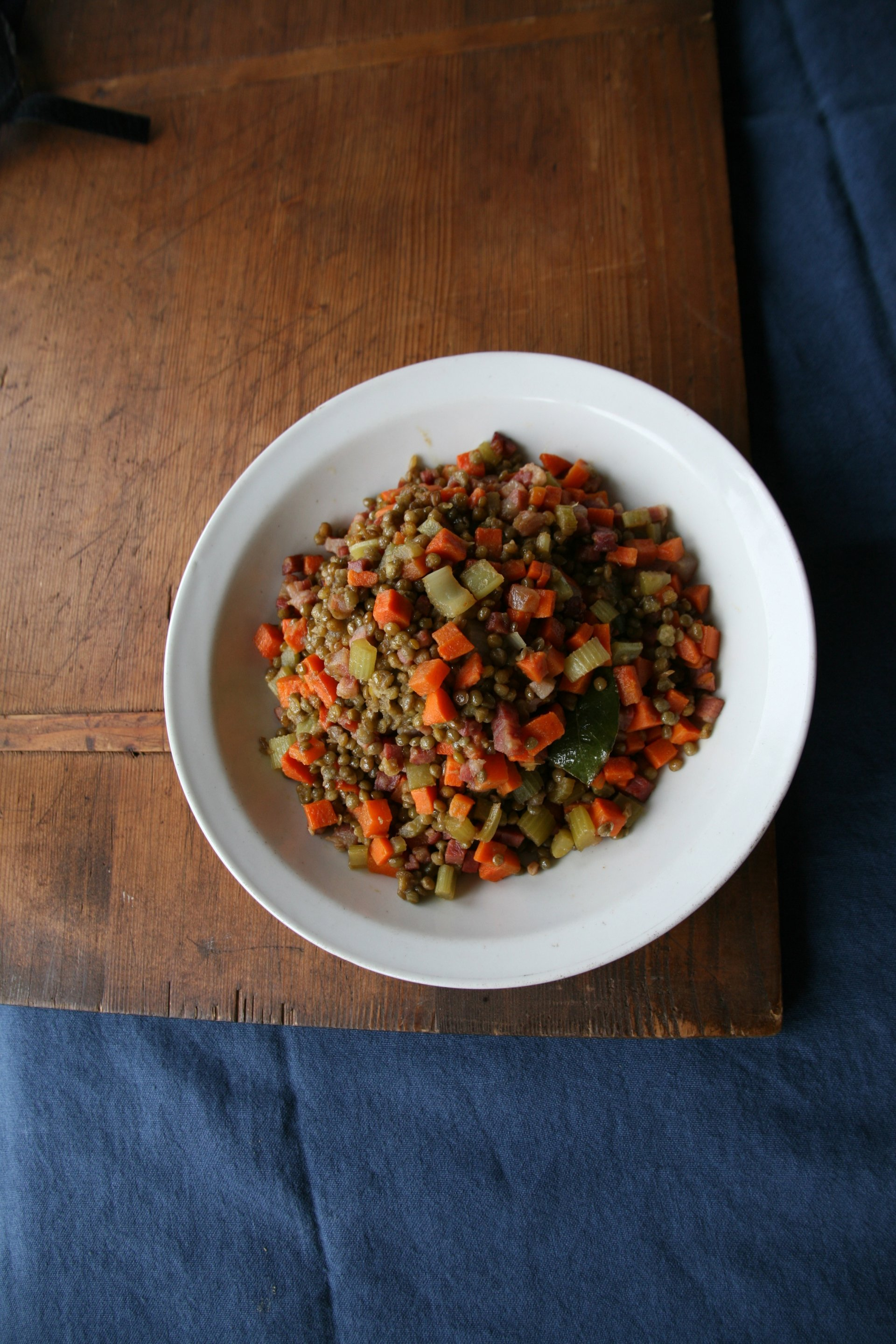 Lentil Country Salad by Lidia Bastianich