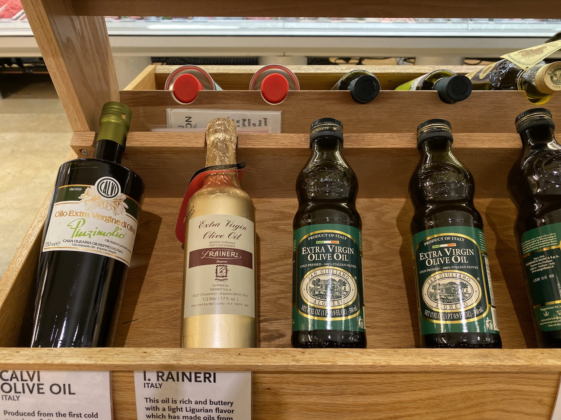 Olive Oil stocked in Italy. Update of 4 June 2020