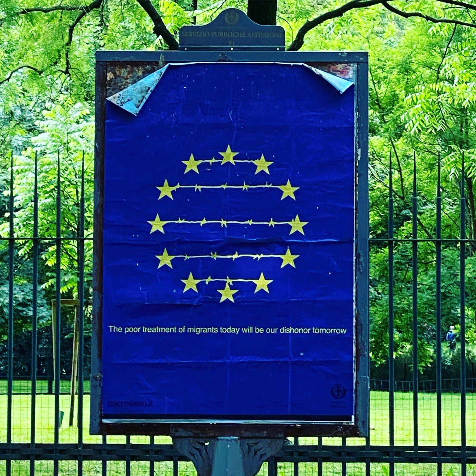 La prima delle due grandi divisioni che dilaniano l'Unione europea