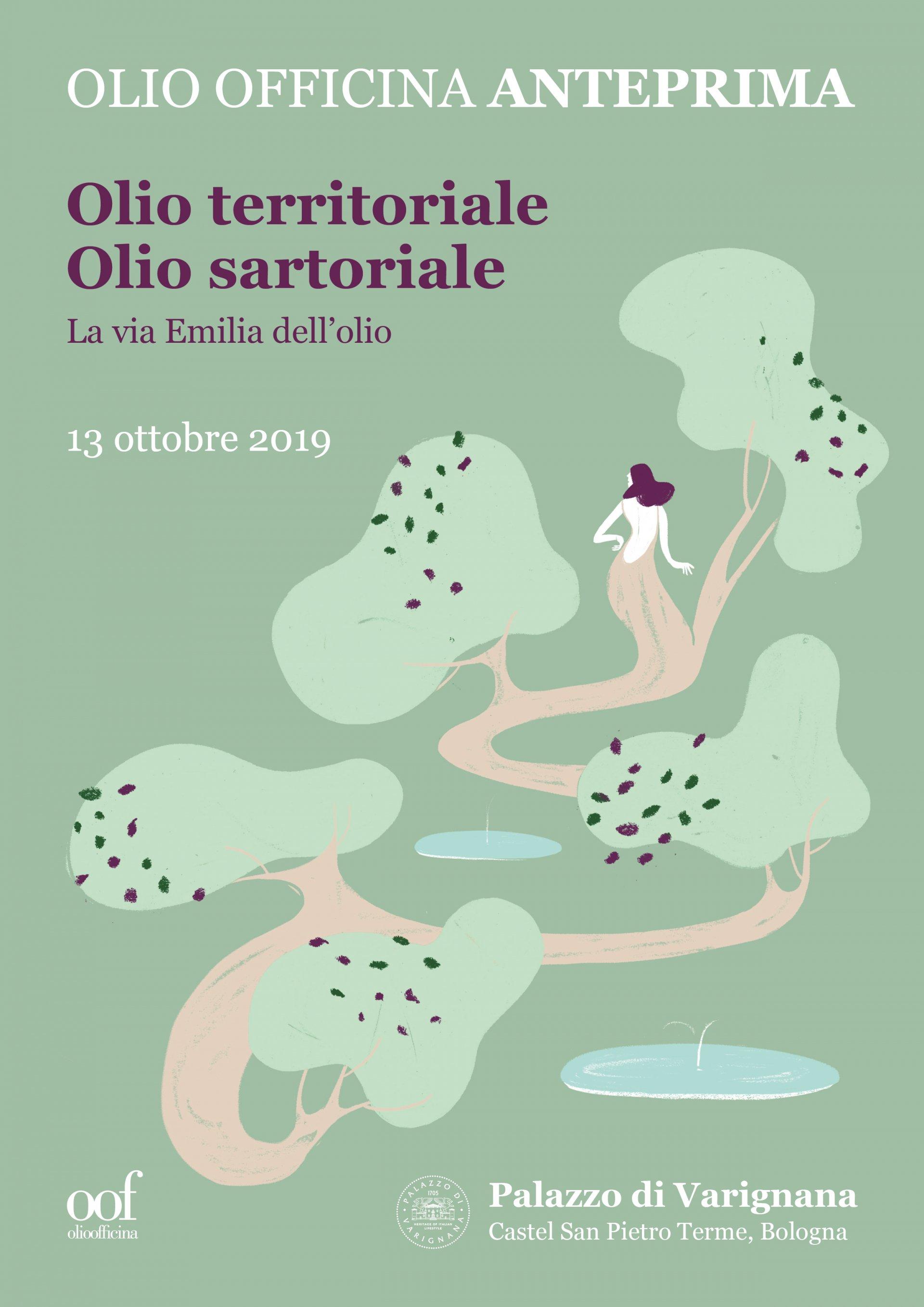 Olio Officina Anteprima 2019 sui colli bolognesi