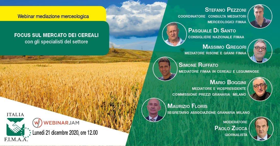 Un focus sul mercato dei cereali con gli specialisti del settore
