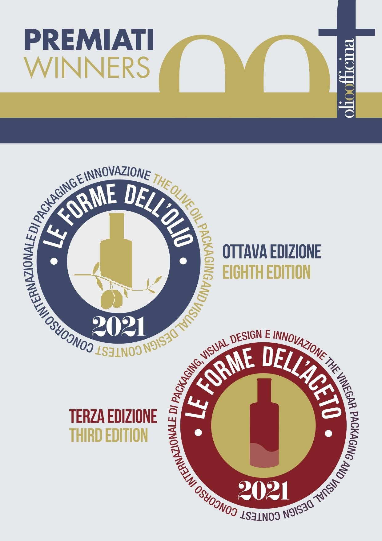 Here are the winners of the 2021 Le Forme dell'Olio Award