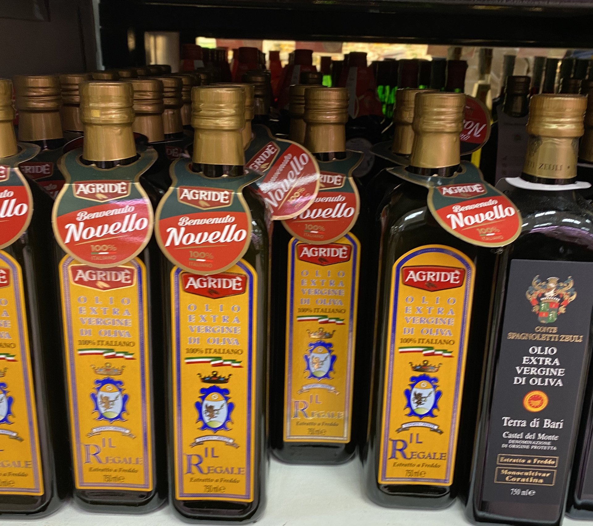 Olive Oil stocked in Italy. Update of 31 January 2021