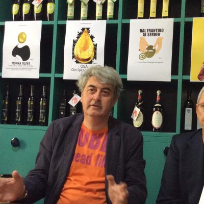 Luigi Caricato e Tano Simonato