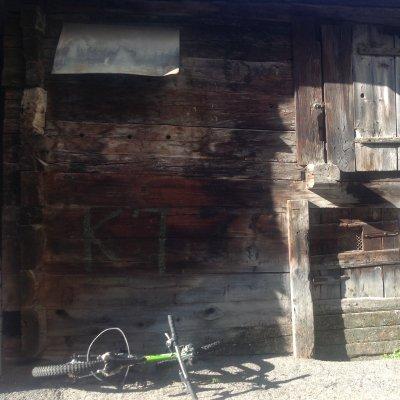 Finestra chiusa di Casa Walser a Zermatt