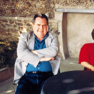 Lo scrittore con la moglie Lucia