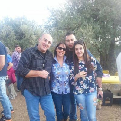 I coniugi Ciurcina-Cutrale con i figli