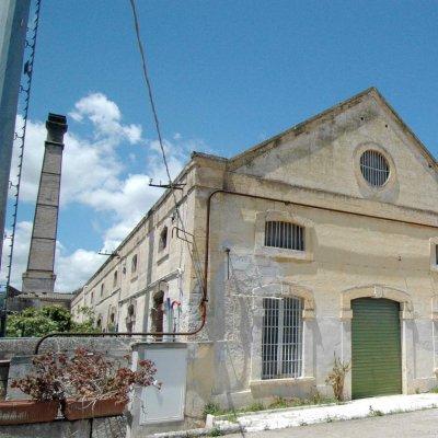 La sede del saponificio, una vista d'insieme