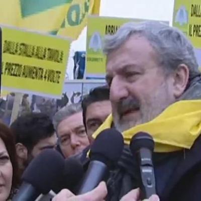 Il governatore della Regione Puglia Emiliano