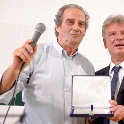 Gennaro Forcella (Federolio) con Fabrizio Fusi
