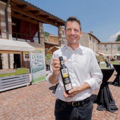 Il presidente del Consorzio dell'olio Dop Garda, Andrea Bertazzi