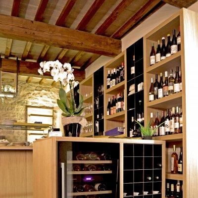 Anche i vini naturali nella oleoteca