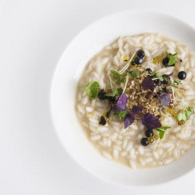 Riso, Laudemio e olive, Chef Salvatore Bianco - © Fancesco Mion