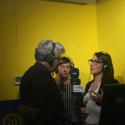 Momenti dell'intervista a Radio Babboleo